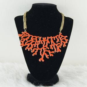 Amrita Singh | Orange & Gold Necklace